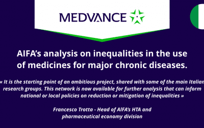 AIFA's analysis on inequalities in the use of medicines for major chronic diseases